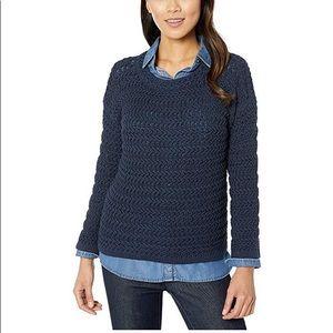 Elliott Lauren Textured Crew Neck Sweater